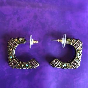 Heidi Daus Pierced Earrings